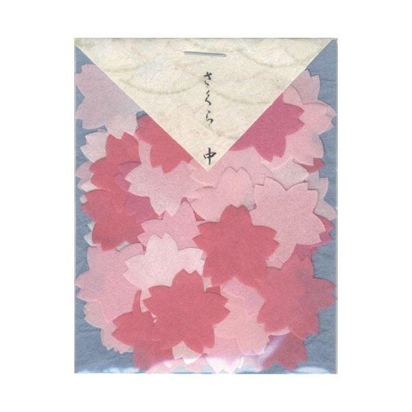 (まとめ)貼り絵 805038-7 桜中〔×30セット〕【代引不可】【北海道・沖縄・離島配送不可】