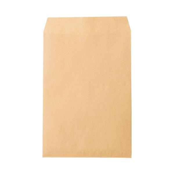 (まとめ) ピース R40再生紙クラフト封筒 角2085g/m2 業務用パック 792-80 1箱(500枚) 〔×5セット〕【代引不可】【北海道・沖縄・離島配送不可】