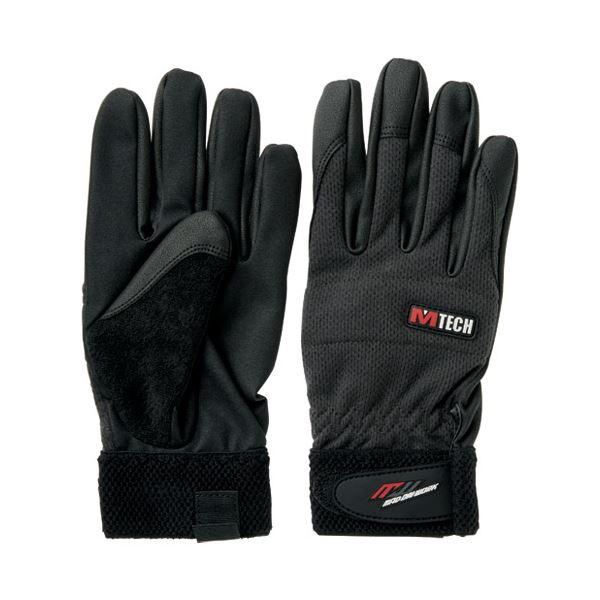 (まとめ)ミタニコーポレーション 合皮手袋 エムテック Lサイズ 209063〔×30セット〕【代引不可】【北海道・沖縄・離島配送不可】