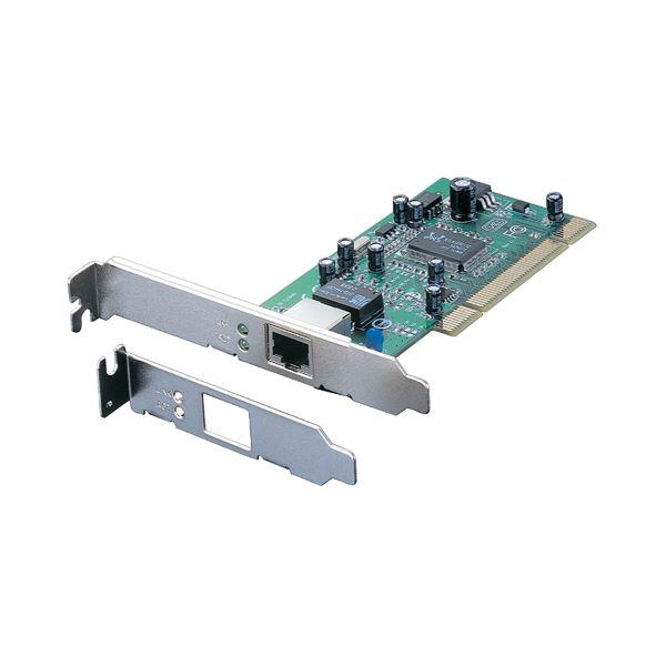 バッファロー PCIバス用 LANボード 1000BASE-T・100BASE-TX・10BASE-T対応 LGY-PCI-GT 1個 〔×10セット〕【代引不可】【北海道・沖縄・離島配送不可】
