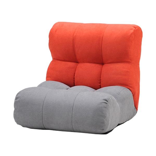 ソファ座椅子 ピグレットJrノルディック1P RD/GRY【代引不可】【北海道・沖縄・離島配送不可】
