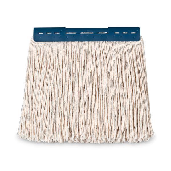 (まとめ) テラモト FXモップ替糸(J)24cm 260g ブルー CL-374-421-3 1個 〔×30セット〕【代引不可】【北海道・沖縄・離島配送不可】