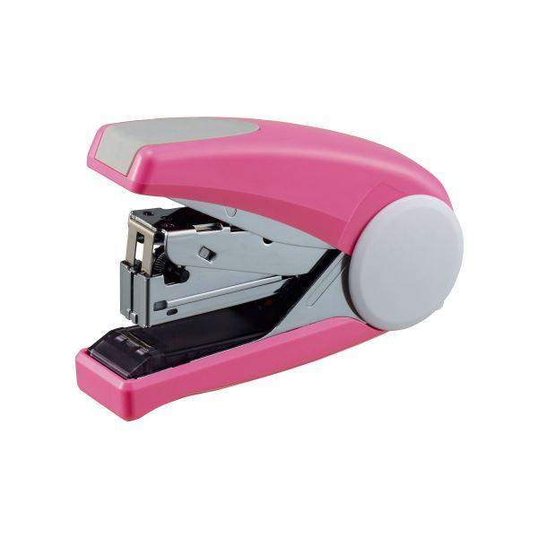 (まとめ) ライオン事務器 ステープラ かるホッチPOWER 45枚とじ ピンク FS-45 1個 〔×5セット〕【代引不可】