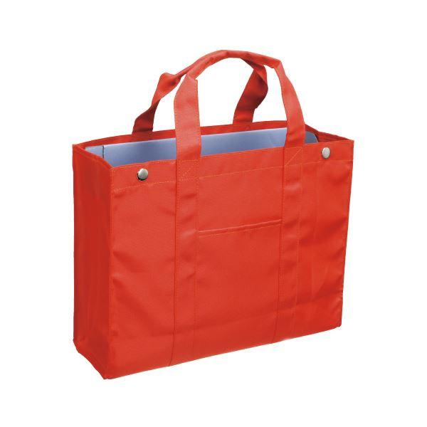 (まとめ)サクラクレパス オフィストートバッグ UNT-A4#5 オレンジ〔×30セット〕【代引不可】【北海道・沖縄・離島配送不可】