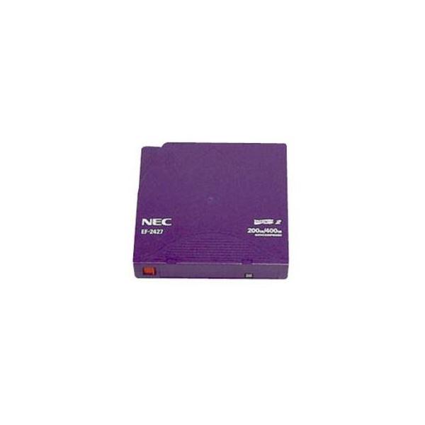 (まとめ)NEC LTO Ultrium2 データカートリッジ 200GB(非圧縮時)/400GB(圧縮時) EF-2427 1巻〔×3セット〕【代引不可】【北海道・沖縄・離島配送不可】