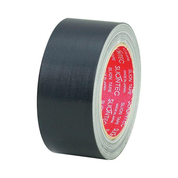 (まとめ) スリオンテック 布粘着テープ No.3390 50mm×25m 黒 No.3390-50BK 1巻 〔×30セット〕【代引不可】【北海道・沖縄・離島配送不可】