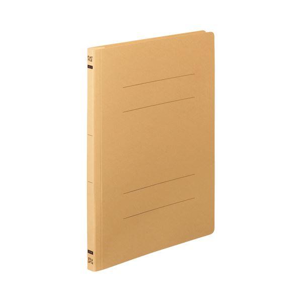(まとめ) TANOSEE フラットファイルE A4タテ 150枚収容 背幅18mm イエロー 1パック(10冊) 〔×30セット〕【代引不可】