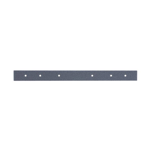 背マクラ グレー 25×297×5mm 100本入 〔×10セット〕【代引不可】【北海道・沖縄・離島配送不可】