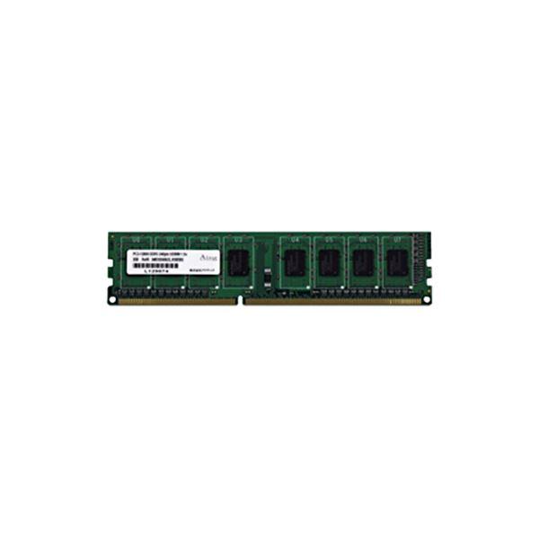 (まとめ)アドテック DDR3 1600MHzPC3-12800 240Pin UDIMM 2GB 省電力 ADS12800D-H2G 1枚〔×3セット〕【代引不可】【北海道・沖縄・離島配送不可】