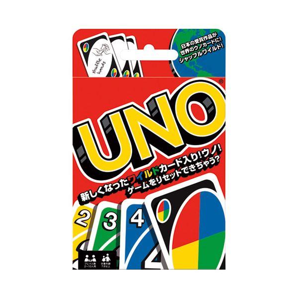 (まとめ)マテル・インターナショナル ウノ カードゲーム ノーマル〔×30セット〕【代引不可】【北海道・沖縄・離島配送不可】