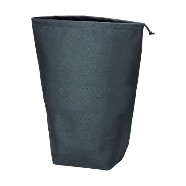 (まとめ) TRUSCO 不織布巾着袋 黒500×420×220mm TNFD-10-L 1パック(10枚) 〔×5セット〕【代引不可】【北海道・沖縄・離島配送不可】