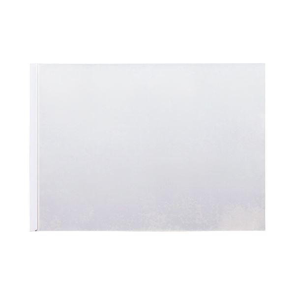 (まとめ) TANOSEE スライディングレールホルダー A3ヨコ 20枚収容 ホワイト 1パック(10冊) 〔×10セット〕【代引不可】【北海道・沖縄・離島配送不可】