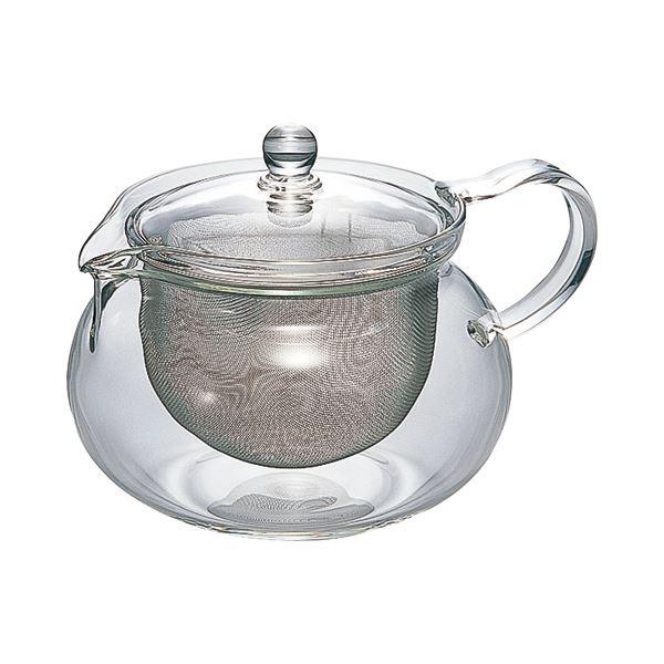 (まとめ) ハリオグラス 茶茶急須 丸 700ml CHJMN-70T 1個 〔×10セット〕【代引不可】【北海道・沖縄・離島配送不可】