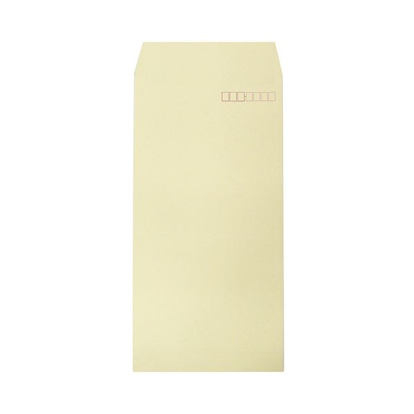(まとめ) ハート 透けないカラー封筒 テープ付長3 パステルクリーム XEP273 1パック(100枚) 〔×10セット〕【代引不可】【北海道・沖縄・離島配送不可】