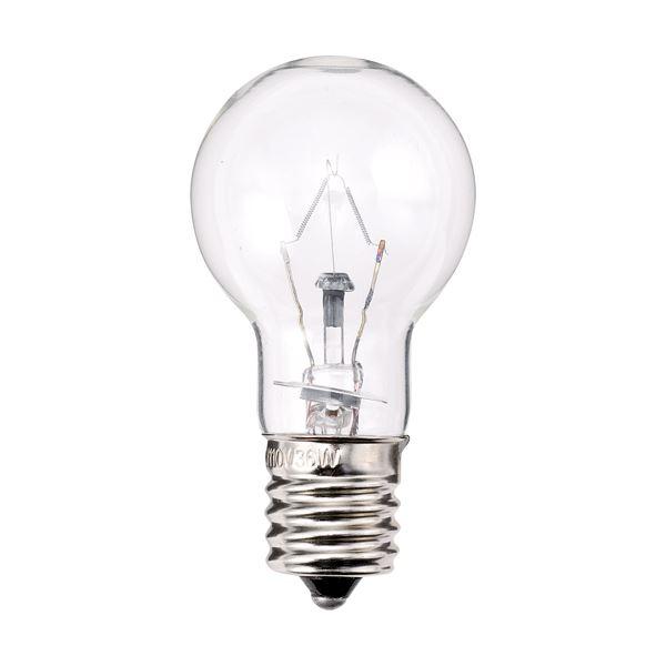 (まとめ) TANOSEE ミニクリプトン電球 40W形 E17口金 クリアタイプ 1パック(6個) 〔×10セット〕【代引不可】【北海道・沖縄・離島配送不可】