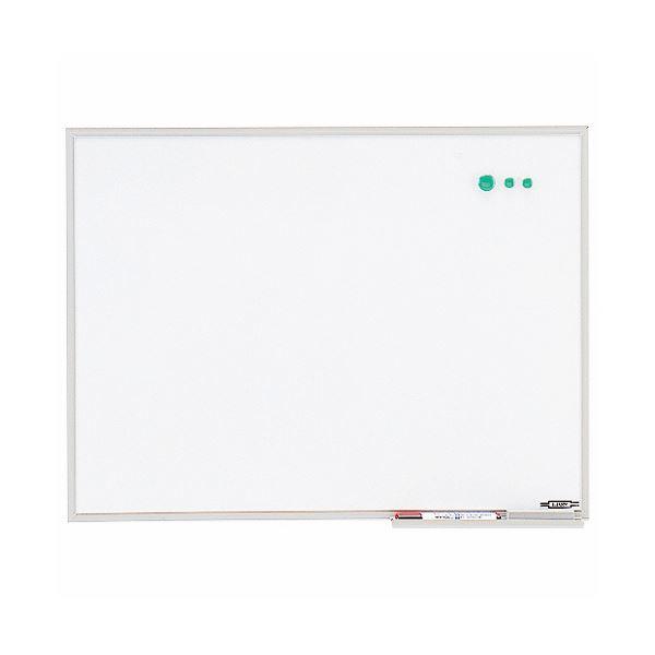 【送料無料】ライオン事務器 ホワイトボードアルミホーロー製 603×453mm PH-14 1枚【代引不可】