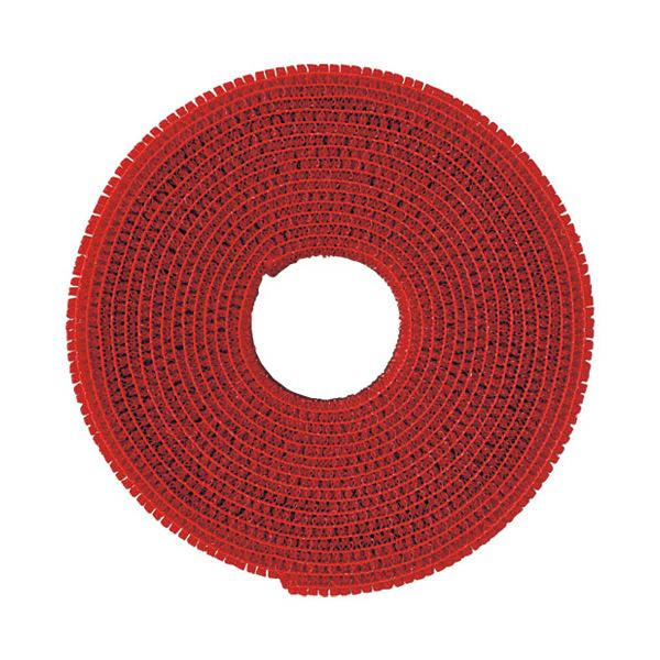 (まとめ)クラレトレーディング マジックバンドCP-09 赤〔×30セット〕【代引不可】【北海道・沖縄・離島配送不可】