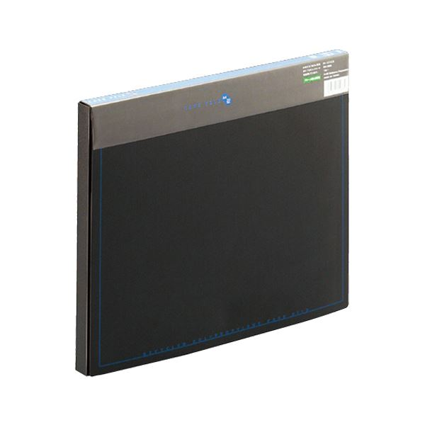 (まとめ)プラス ケースファイル 再生PP A4背幅20mm ブラック(背見出し色ブルー) FL-131CE 1冊 〔×20セット〕【代引不可】【北海道・沖縄・離島配送不可】