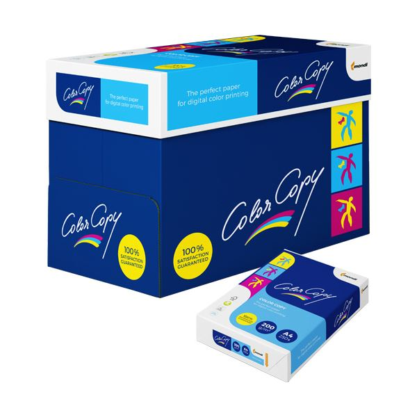 【送料無料】モンディ Color Copy A4200g 0000-302-A405 1セット(1250枚:250枚×5冊)【代引不可】