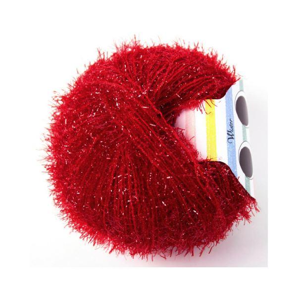 (まとめ)毛糸キラリネ#25 赤〔×30セット〕【代引不可】【北海道・沖縄・離島配送不可】