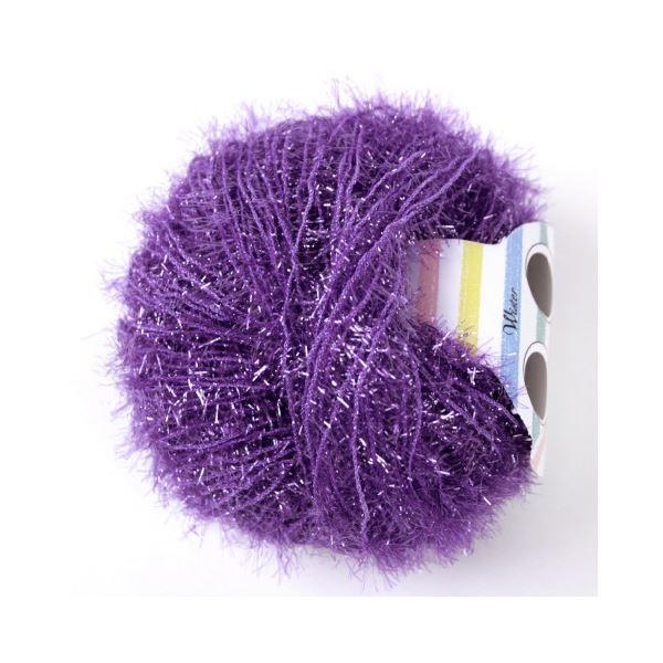 (まとめ)毛糸キラリネ#27 薄紫〔×30セット〕【代引不可】【北海道・沖縄・離島配送不可】