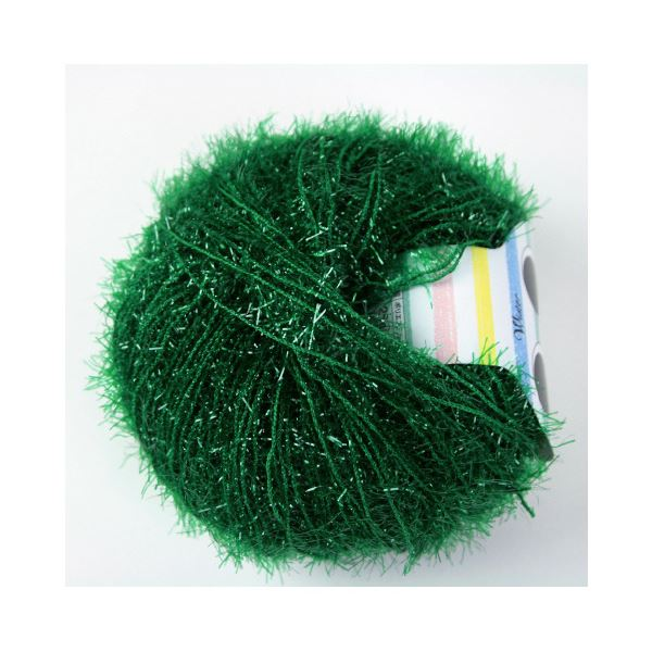 (まとめ)毛糸キラリネ#29 緑〔×30セット〕【代引不可】【北海道・沖縄・離島配送不可】