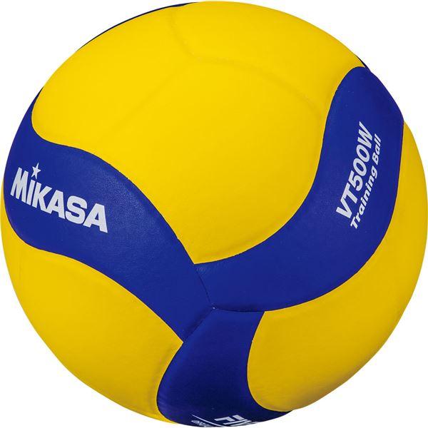 MIKASA(ミカサ)バレーボール トレーニングボール5号球 500g〔VT500W〕【代引不可】