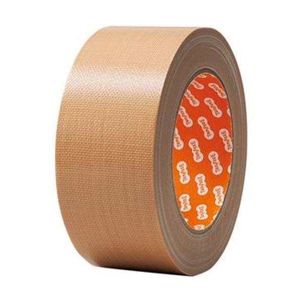 (まとめ) TANOSEE 布テープ 軽梱包用 50mm×25m 1巻 〔×50セット〕【代引不可】【北海道・沖縄・離島配送不可】
