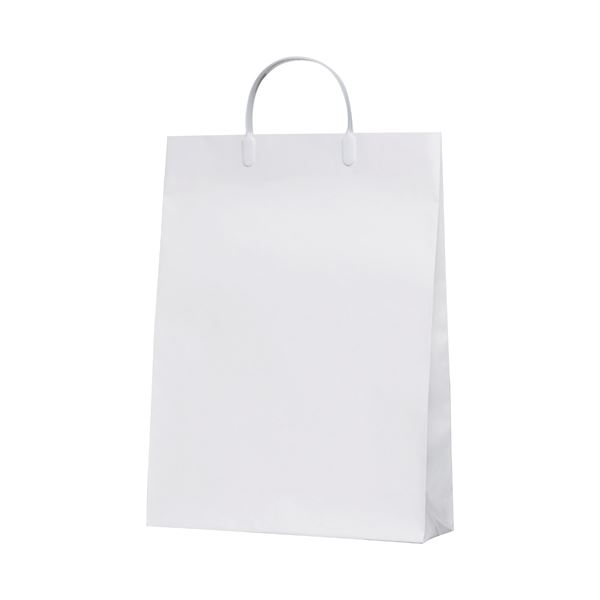 (まとめ)今村紙工 白コーティングバック10枚KWCB-03〔×5セット〕【代引不可】【北海道・沖縄・離島配送不可】