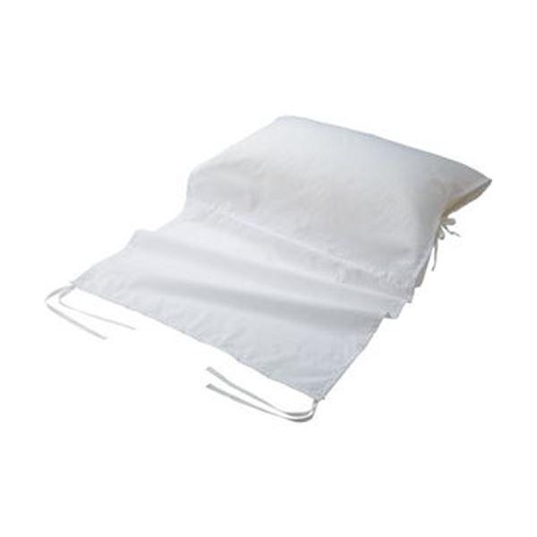 ベッドのフレームに固定できるので、リクライニングがアップしても枕のズレ落ちを気にする必要がありません! (まとめ)ルナール介護ベッド用ずれ落ちない枕カバー RUNA-PI 1枚〔×3セット〕 【北海道・沖縄・離島配送不可】