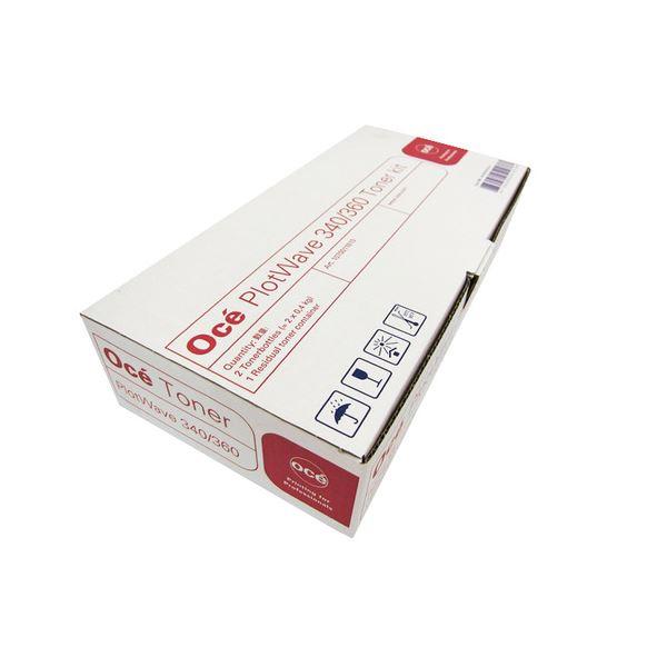 【送料無料】オセPlotWave340/360用トナーキット 400g/本 PW340/360TK 1箱(2本)【代引不可】