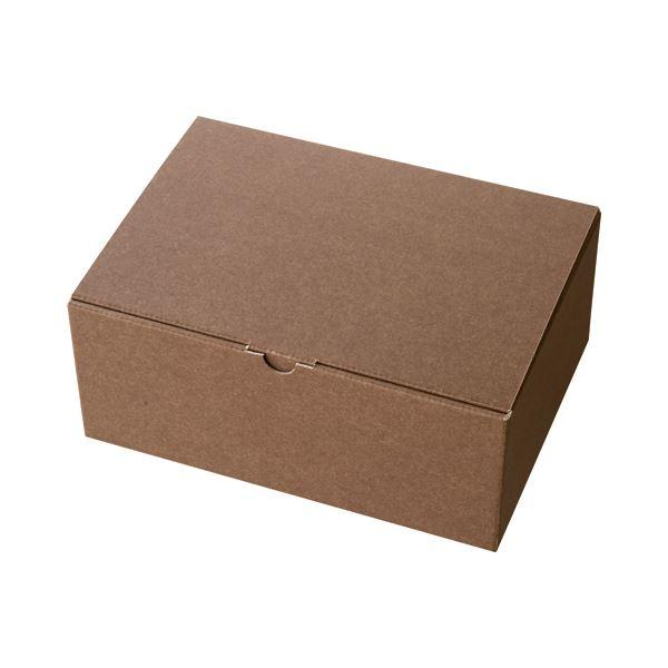 (まとめ) ヘッズ 無地ブラウンギフトボックス W263×D190×H110mm MBR-GB2 1パック(10枚) 〔×10セット〕【代引不可】【北海道・沖縄・離島配送不可】