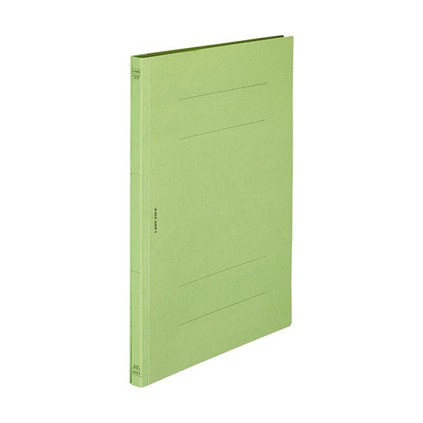 (まとめ) ライオン事務器 フラットファイル(環境)樹脂押え具 B4タテ 150枚収容 背幅18mm 緑 A-509KB4S 1冊 〔×100セット〕【代引不可】