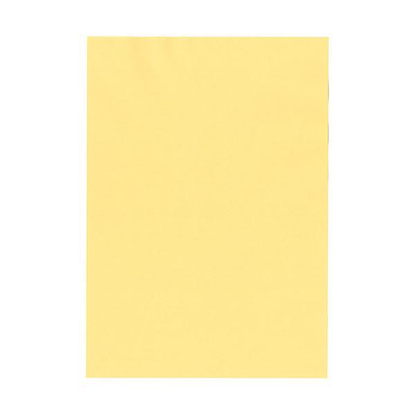 (まとめ) 北越コーポレーション 紀州の色上質A4T目 薄口 クリーム 1冊(500枚) 〔×5セット〕【代引不可】【北海道・沖縄・離島配送不可】