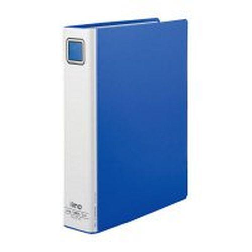【送料無料】(まとめ買い)コクヨ iimo パイプ式ファイル エコノミー両開き A4タテ 50mmとじ 青 10冊 EM-FURT650BX10 〔×3〕