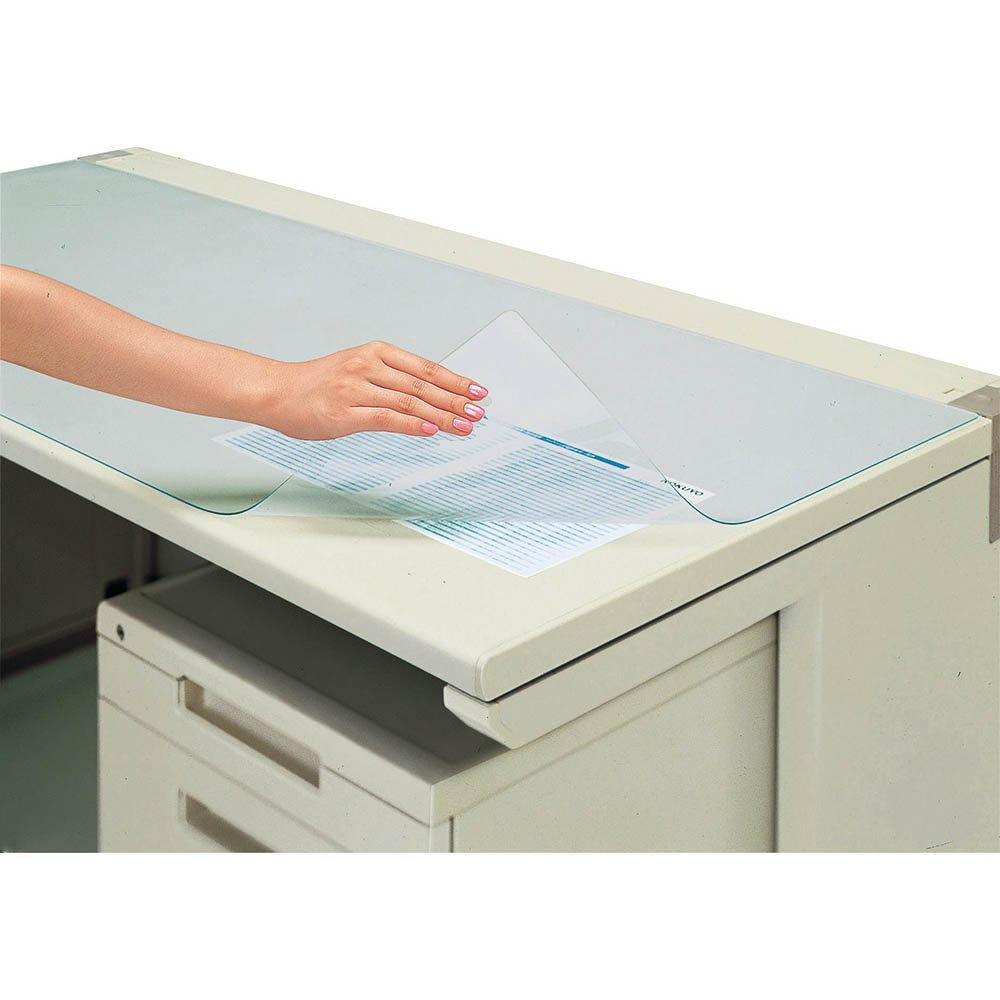 (summary) 1,382*596 マ -MX547 [*3 set of bulk buying] which there is no KOKUYO desk mat soft (vinyl chloride) non-transcription transparence sheet of plastic in