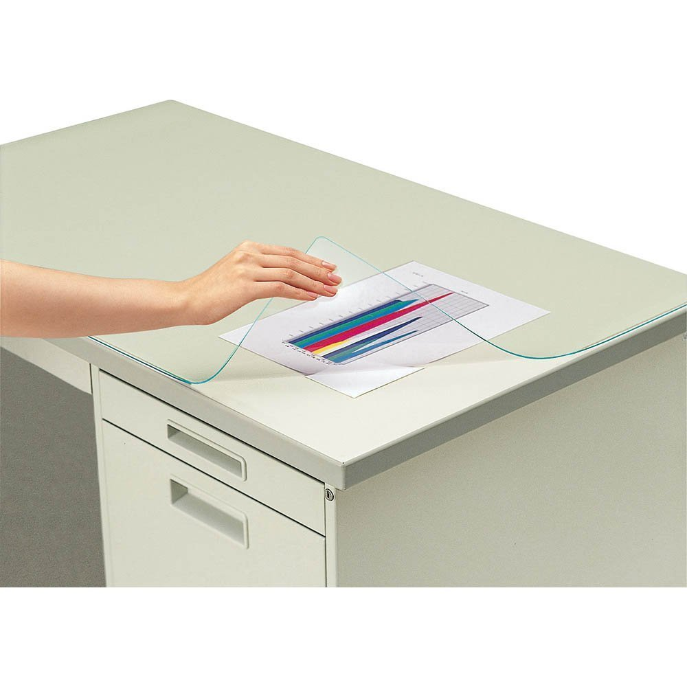 (summary) 600*450 KOKUYO desk mat soft (vinyl chloride) sheet of plasticless マ -300 [*3 set of bulk buying]