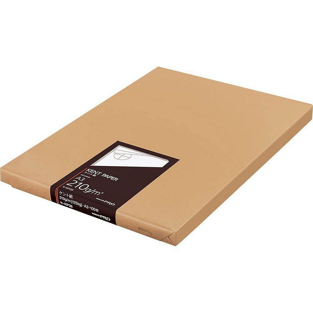 (まとめ買い)コクヨ ケント紙 A3 100枚 210g セ-KP28 〔3冊セット〕