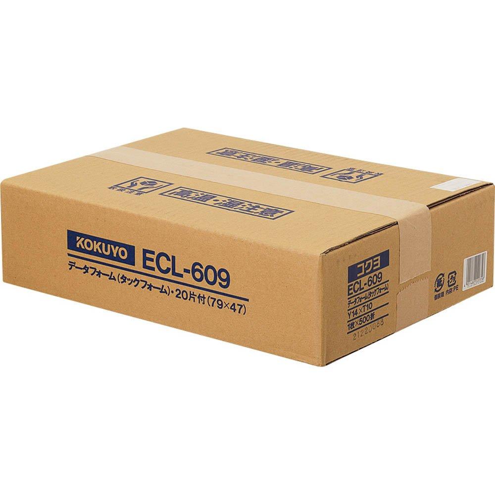 【送料無料】(まとめ買い)コクヨ タックフォーム Y14XT10 20片 500枚 ECL-609 〔×3〕