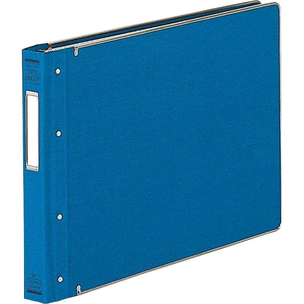 (まとめ買い)コクヨ データバインダーW バースト用 表紙布貼り 350枚収容 22穴 EBW-51 〔3冊セット〕