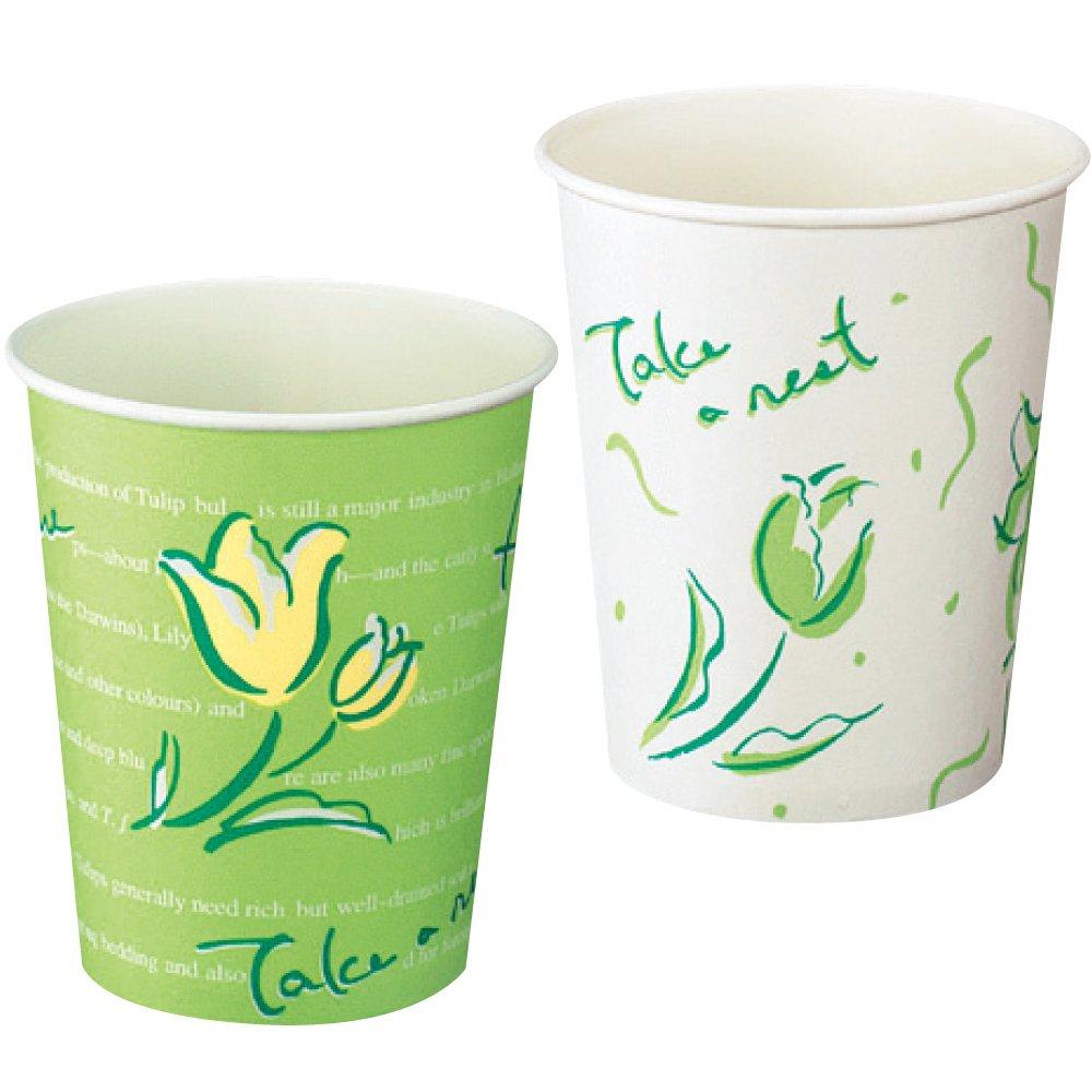 (まとめ買い)【×3】 【送料無料】(まとめ買い)コクヨ 給茶器用紙コップ 花柄 210ml 2000個 フラワー J-SM-205F 〔×3〕
