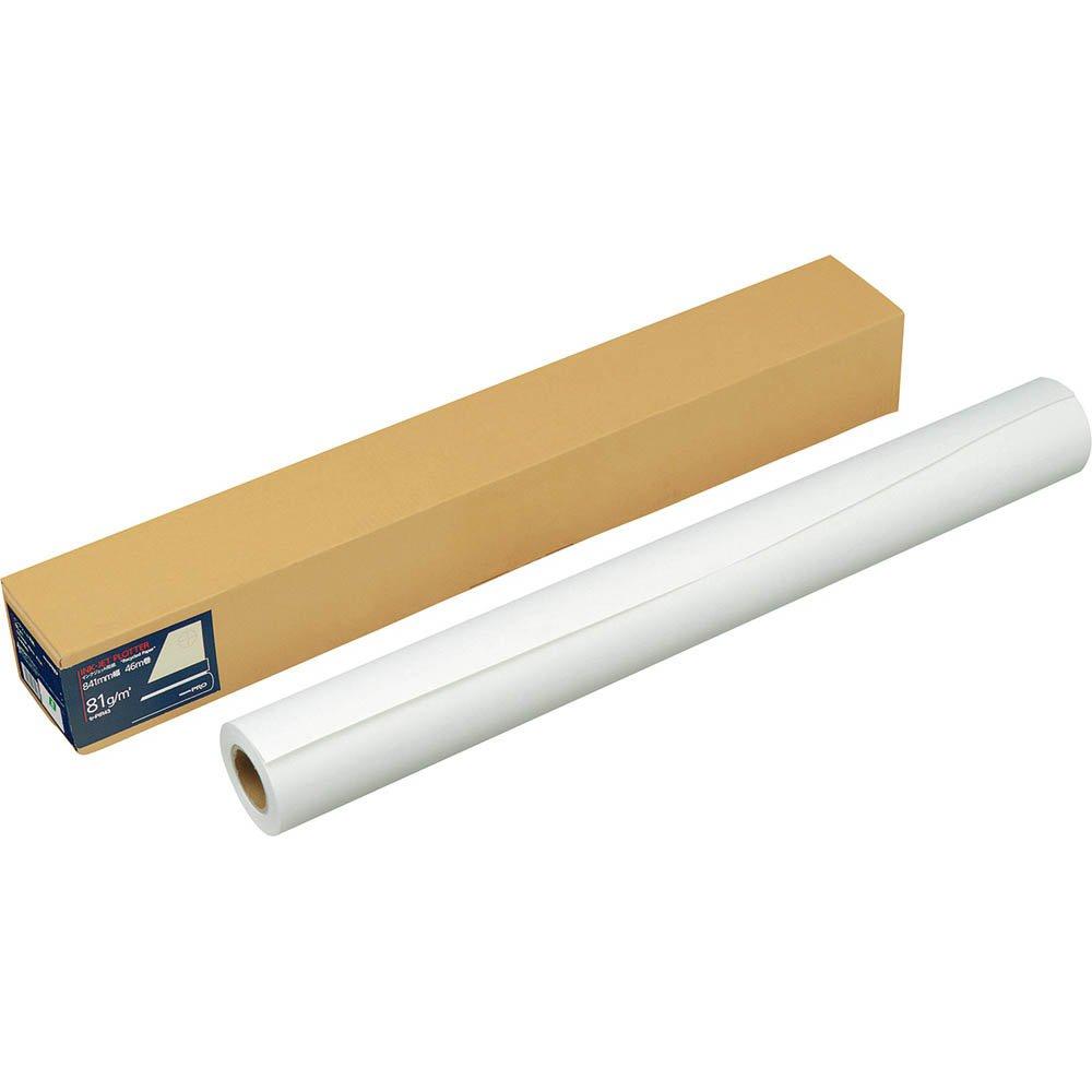 〔×3〕 (まとめ買い)コクヨ インクジェットプロッター用紙 セ-PIR43 ロール 841mm幅
