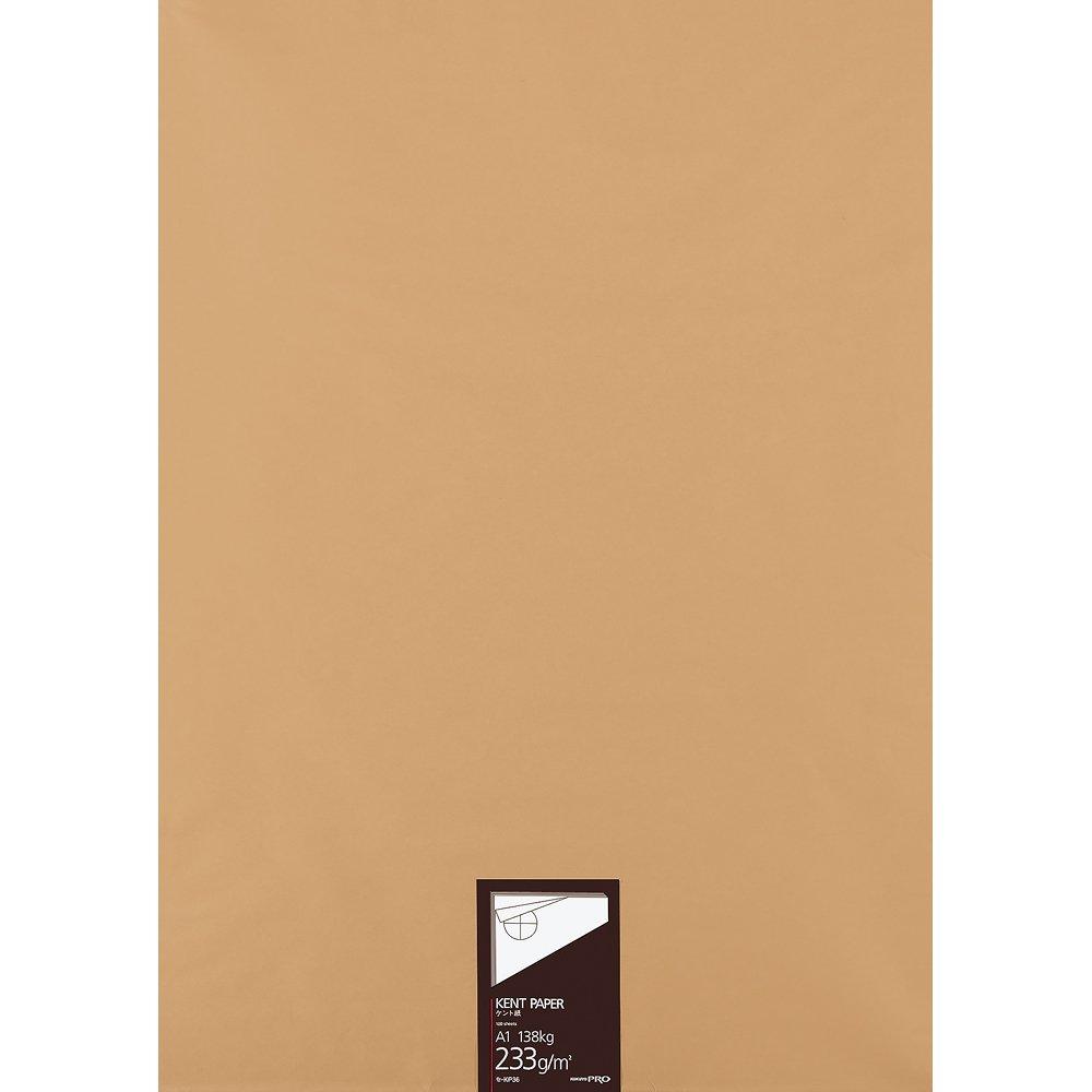 【送料無料】(まとめ買い)コクヨ 高級ケント紙 A1 100枚 紙厚233g セ-KP36 〔3冊セット〕