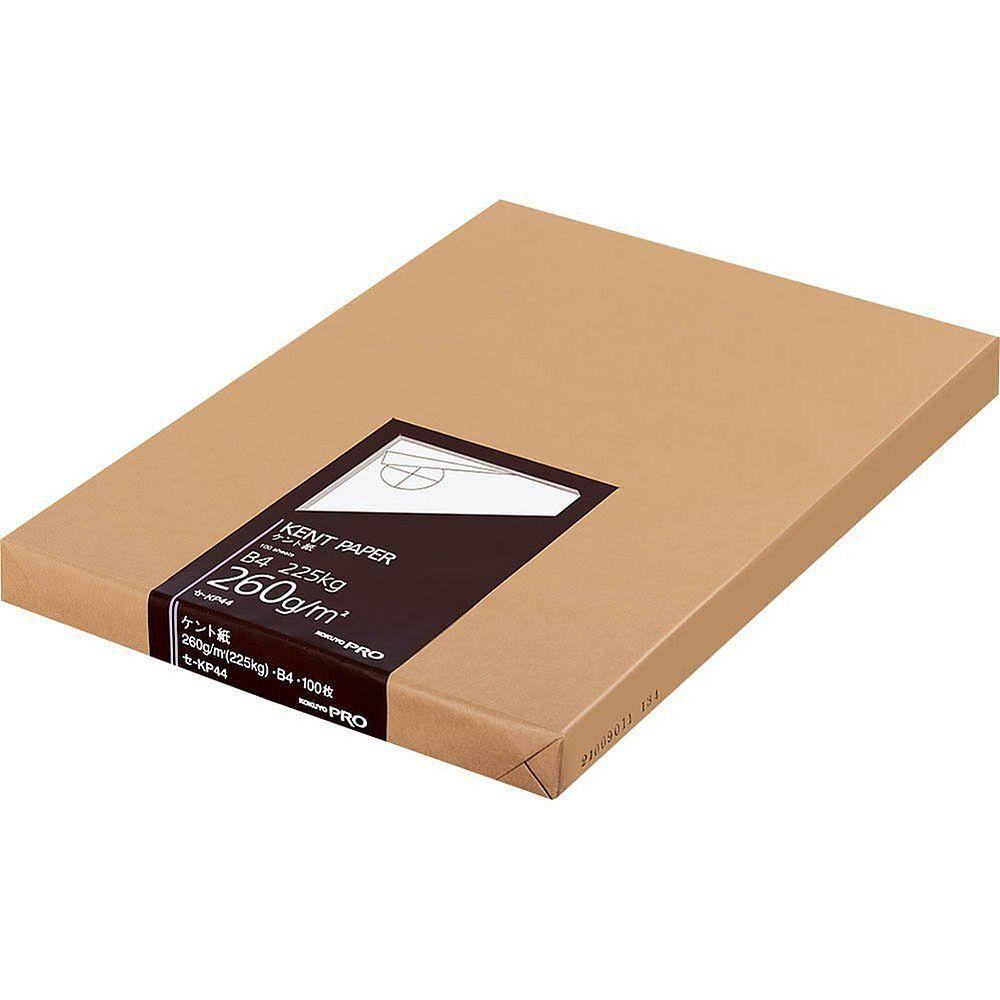 【送料無料】(まとめ買い)コクヨ 高級ケント紙 B4 100枚 紙厚260g セ-KP44 〔3冊セット〕