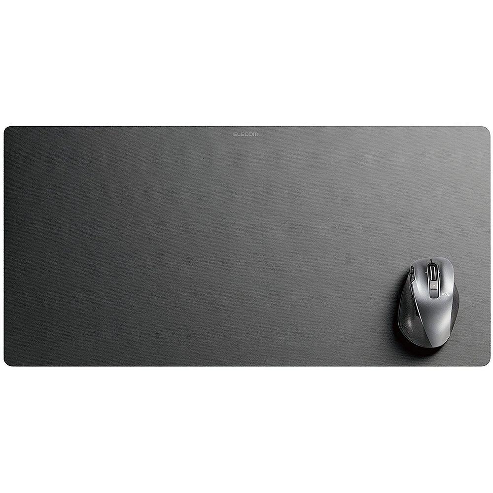 Elecom Mouse Pad Desk Mat Super Large Size Black Mp Dm01bk