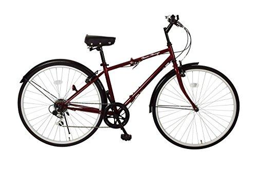 【送料無料】Classic Mimugo 折りたたみ自転車 FDB700C 6S クラシックレッド MG-CM700C【代引不可】