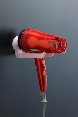 超級吸盤魔法鎖系統存儲系列頭髮吹風機的持有者