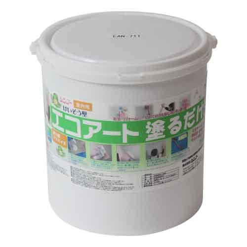【送料無料】シンコー・エコアート塗るだけ18kg・フローラルホワイト【代引不可】