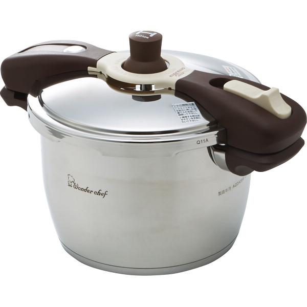 【送料無料】ワンダーシェフ 魔法のクイックエスプレッソスリッタ圧力鍋(22cm・5.5l) 640413