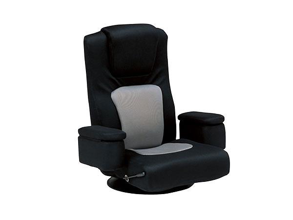 【送料無料】座椅子 LZ-082BK【代引不可】, nutsberry:fe1cc080 --- data.gd.no